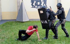 Agentes goianos aprendem técnicas de intervenção no CDP de Caiuá