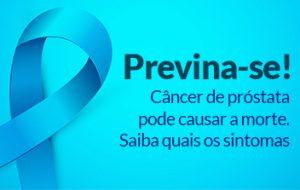 Novembro Azul é mês de alerta sobre o câncer de próstata