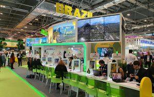 Secretaria de Turismo promove as atrações do Estado em feira internacional