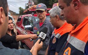 Defesa Civil Estadual apoia Corpo de Bombeiros nos resgates em Campos do Jordão