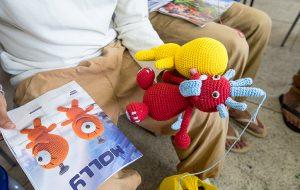 Reeducandos de Guarulhos produzem bonecos Amigurumis