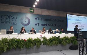 Secretaria de Infraestrutura e Meio Ambiente apresenta ações durante a COP 25