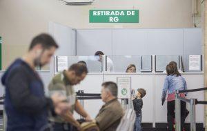 Poupatempo fará mutirão para emissão de RG em 10 postos