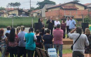 Governo inaugura Parque Linear em Pardinho