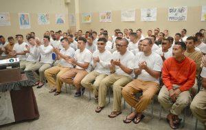 Café Filosófico reúne 70 reeducandos de penitenciária de Guareí