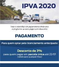 Confira o valor do IPVA 2020 e as opções de pagamento