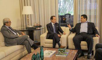 Encontro com Presidente do Senado, Davi Alcolumbre