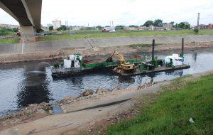 DAEE renova contrato para desassorear 41 km do rio Tietê