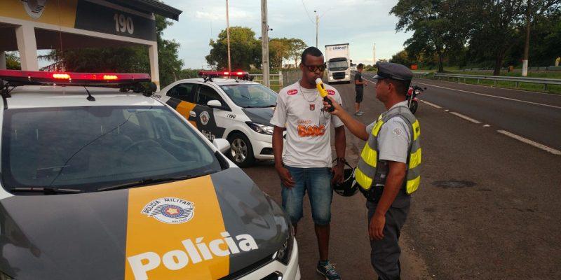 Policiamento surpreende 1,5 mil motoristas sob efeito de bebidas alcoólicas no carnaval