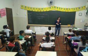 DAEE promove ação de educação ambiental em Pedreira