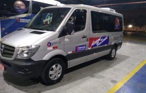 Micro-ônibus passa a atender passageiros do Airport Bus Service