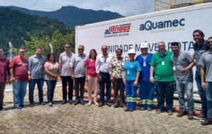 Miniestação de tratamento da Sabesp reforça a oferta de água em Ilhabela