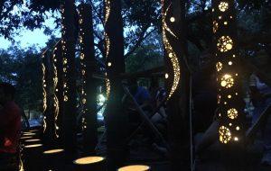 Unesp: Oficina de lanternas de bambu ilumina o campus de Bauru