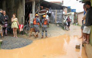 Governo envia 4,6 toneladas de ajuda humanitária a desabrigados da Baixada Santista