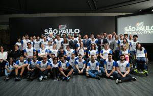 Governo apresenta atletas paralímpicos do Time São Paulo 2020