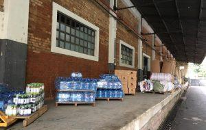 Cidades da Baixada Santista recebem 30,5 toneladas de materiais de ajuda humanitária