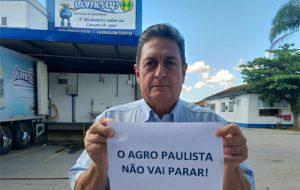 Cadeias produtivas do agro de SP somam esforços para garantir abastecimento