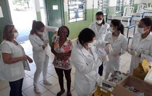 Alunos da Etec de Santa Rita do Passa Quatro participam de vacinação contra gripe