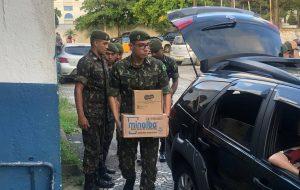 Em conjunto com Governo de SP, Forças Armadas apoiam ações na Baixada Santista