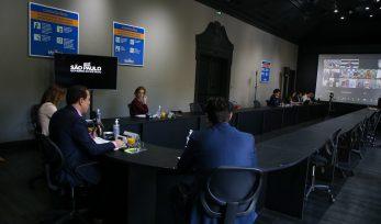 Reunião virtual dos Governadores do Cosud