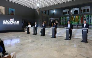 Governo de SP firma parceria com bancos para produção de 1 milhão de máscaras sociais