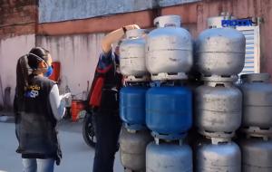 Operação conjunta flagra transporte clandestino de botijão de gás em SP
