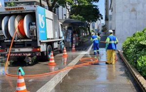 Sabesp e Prefeitura vão higienizar espaços públicos em São José dos Campos