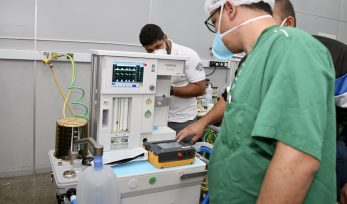 Calibragem de novos respiradores no Hospital das Clínicas