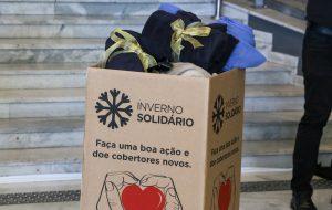 Fundo Social de São Paulo lança Campanha Inverno Solidário 2020