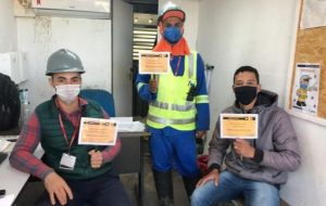 Barragem Pedreira faz campanha de conscientização sobre acidentes de trânsito