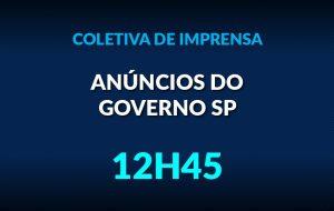 Governo de SP apresenta informações sobre o Plano Retomada 21/22