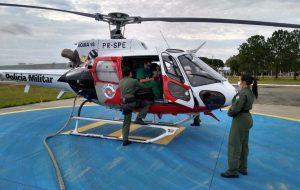 Polícia Militar realiza transporte de órgãos e ajuda a salvar vidas