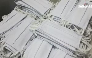 Cerca de 3 mil máscaras serão distribuídas hoje (17) na estação Clínicas