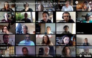 Seminário online discute pesquisa e gestão em unidades de conservação de SP