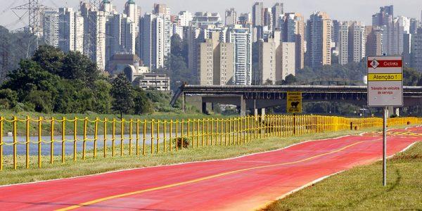 Ciclofaixa da Marginal Pinheiros será reaberta nesta segunda-feira (3)