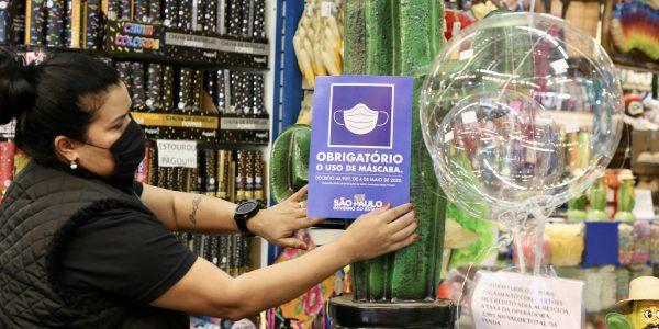 SP lança site com orientações sobre uso obrigatório de máscaras