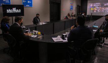8ª reunião virtual com Conselho Econômico