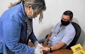 Presídio de Pirajuí promove campanha de combate à hipertensão e diabetes