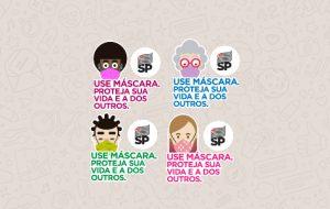 Veja o passo a passo para compartilhar adesivos 'Use máscara' pelo celular