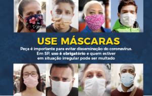 Máscaras: quando e onde deve-se usar