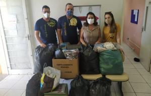 Univesp: Alunos do polo de Pirassununga arrecadam roupas para Fundo Social da cidade