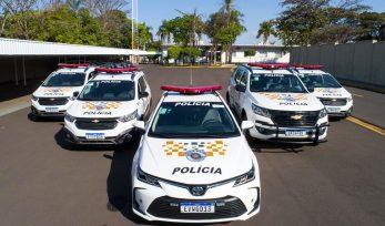 Entrega de viaturas para Polícia Rodoviária