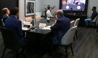 Reunião virtual com Embaixador dos EUA no Brasil