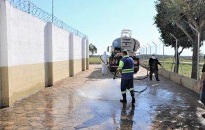 Penitenciária de Álvaro de Carvalho intensifica ações de prevenção ao coronavírus