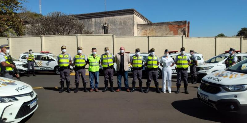 Polícia Rodoviária de SP recebe 36 novas viaturas para patrulhamento