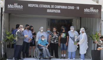 Desativação do Hospital de Campanha do Ibirapuera