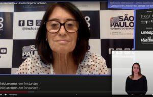 Webinário debate como garantir a inclusão das pessoas com deficiência
