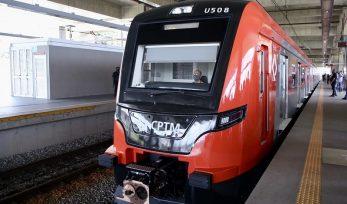 Entrega do 2º trem da Série 2500 para a Linha 13-Jade da CPTM