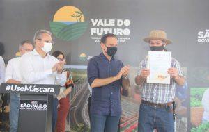 Governo de São Paulo promove regularização fundiária no Vale do Futuro