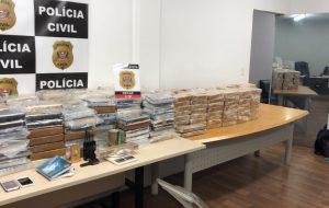Operação da Polícia Civil apreende mais de meia tonelada de cocaína